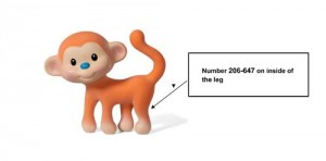 Coco the Monkey Teether